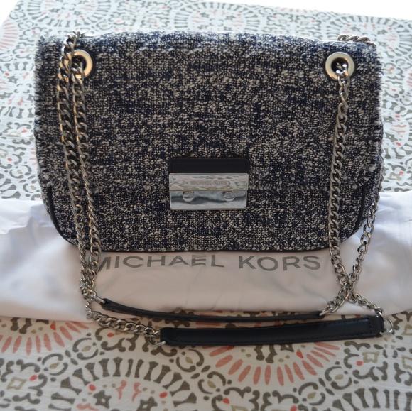 871f2a150757 Michael Kors Large Sloan Tweed Bag. M_5a67f38a739d48018b56956f